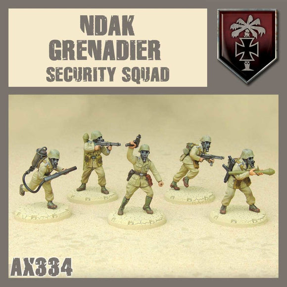 DUST 1947: NDAK Security Squad