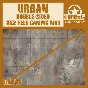 DUST 1947: Urban Double Sided Gaming Mat