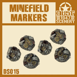 DUST 1947: Minefield Markers