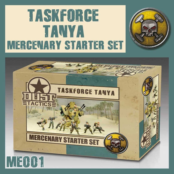 DUST 1947: Taskforce Tanya Mercenary Starter Set