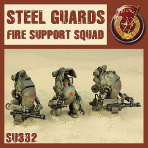 DUST 1947: Steel Guard Fire Support Squad