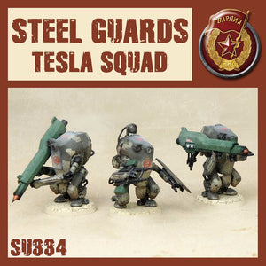 DUST 1947: Steel Guard Tesla Squad