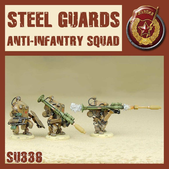 DUST 1947: Steel Guard Anti-infantry Squad