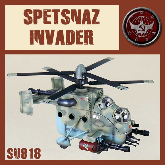 DUST 1947: SSU Spetsnaz Assault Helicopter - Invader