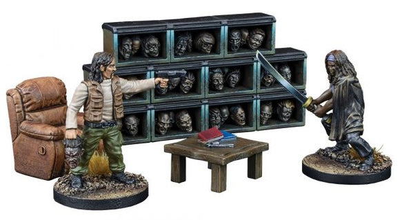 The Walking Dead: All Out War - The Governor's Trophy Room