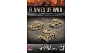 Flames of War: German Luchs (Panzer II) Scout Troop