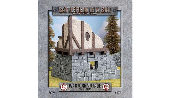 Battlefield in a Box: Wartorn Village - Small Ruin