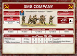 Flames of War: Soviet SMG Company (Mid War)