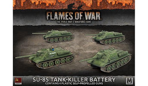 Flames of War: Soviet SU-85 Medium SP Battery (Mid War)