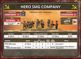 Flames of War: Soviet SMG Company (Late War)