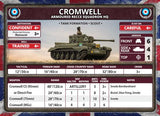 Flames of War: British Cromwell Armoured Troop (Late War)