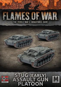 Flames of War: German StuG (Early) Assault Gun Platoon
