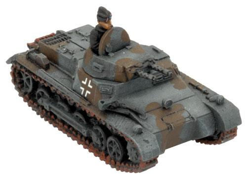 Flames of War: German Panzer I B