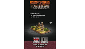 Flames of War: British 3-inch Mortar Platoon (Late War)