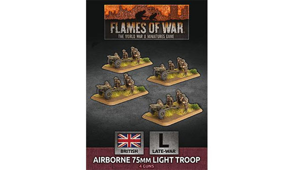Flames of War: British Airborne 75mm Light Troop (Late War)