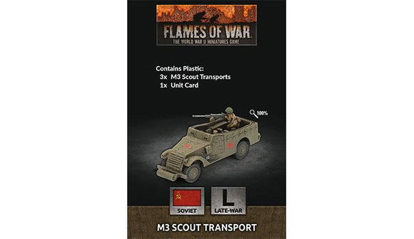Flames of War: Soviet M3 Scout Transport (Late War)