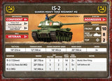 Flames of War: Soviet IS-2 Guards Heavy Tank Company