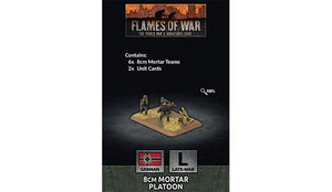 Flames of War: German 8cm Mortar Platoon (Late War)