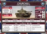 Flames of War: British Churchill Armoured Troop (Late War)