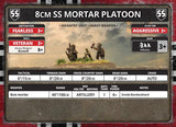 Flames of War: German 8cm SS Mortar Platoon (Late War)