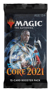 Magic: the Gathering - Core 2021 Draft Booster Pack or Box