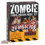 Army Painter Warpaints: Zombicide Toxic/Prison Paint Set