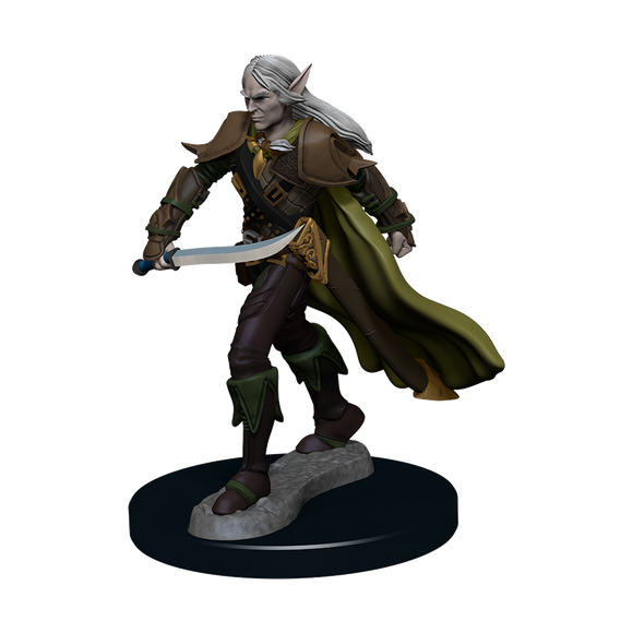 Pathfinder Battles: Elf Fighter Male