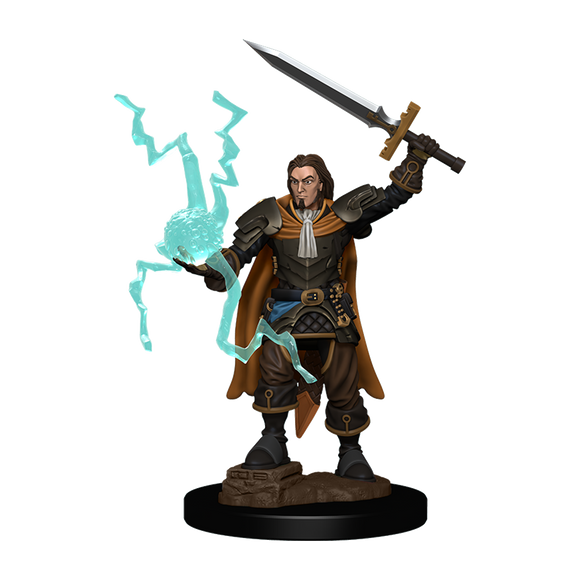 Pathfinder Battles: Human Cleric Male