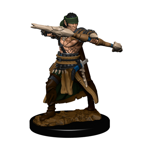 Pathfinder Battles: Half-Elf Ranger Male