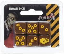 Zombicide: Brown Dice Pack