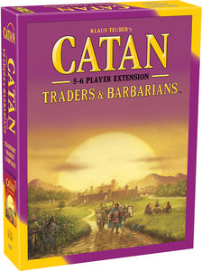 Catan: Traders & Barbarians 5 - 6 Player Extension