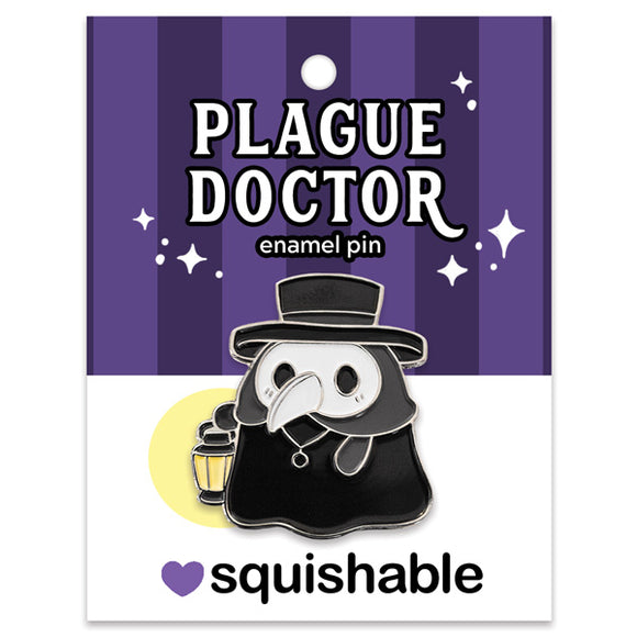 Squishable Plague Doctor Enamel Pin