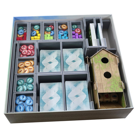 Folded Space Board Game Organizer: Wingspan