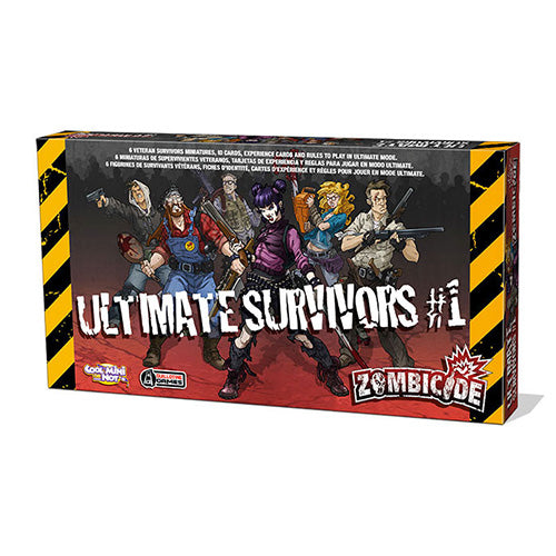Zombicide: Ultimate Survivors Expansion
