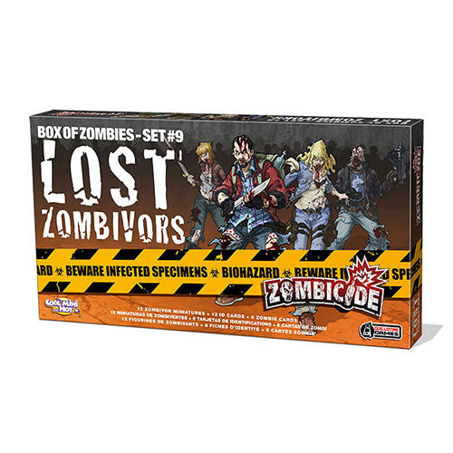 Zombicide: Lost Zombivors Expansion
