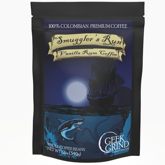Geek Grind Coffee: Smuggler's Run
