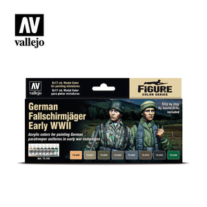 Model Color Figure Series - German Fallschirmjager Early WWII