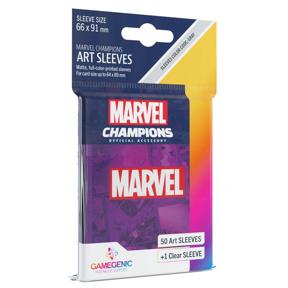 Marvel Champions Art Sleeves - Marvel Purple