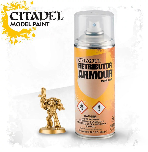 Citadel Color: Spray - Retributor Armour Spray