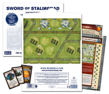 Memoir '44: Battlemap Vol 3 - Sword of Stalingrad