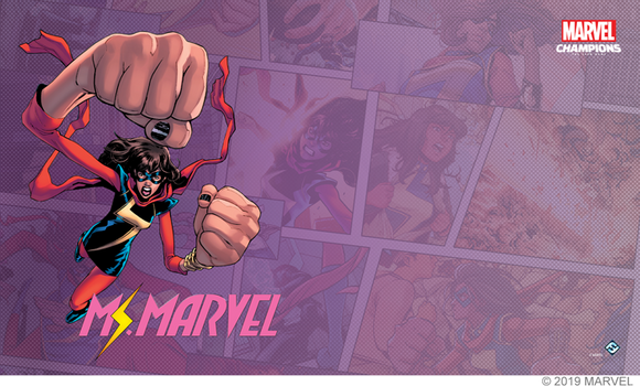 Marvel Champions LCG: Ms. Marvel Game Mat