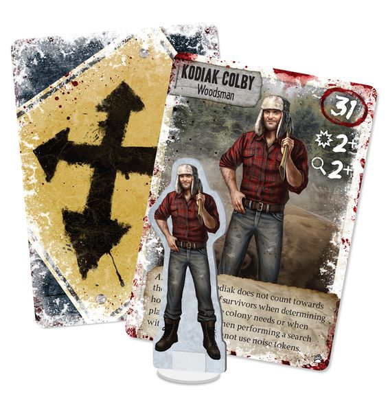 Dead of Winter: Kodiak Colby Exclusive