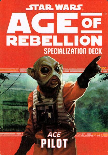 Star Wars: Age of Rebellion: Pilot Specialization Deck