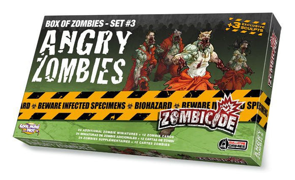Zombicide: Angry Zombies Expansion