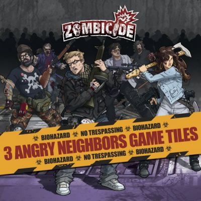 Zombicide: Angry Neighbors Tile Pack