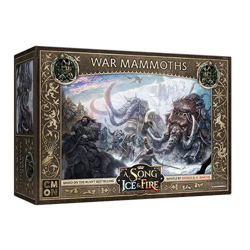 A Song of Ice & Fire: Free Folk War Mammoths