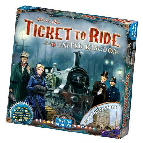 Ticket to Ride: United Kingdom Map Col 5