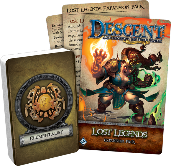 Descent: Lost Legends - Monster and Hero Collection
