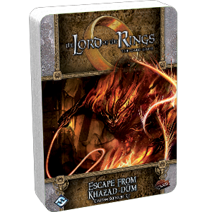 Lord of the Rings LCG: Escape from Kzazad-Dum Custom Scenario Kit