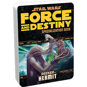 Star Wars: Force and Destiny: Hermit Specialization Deck